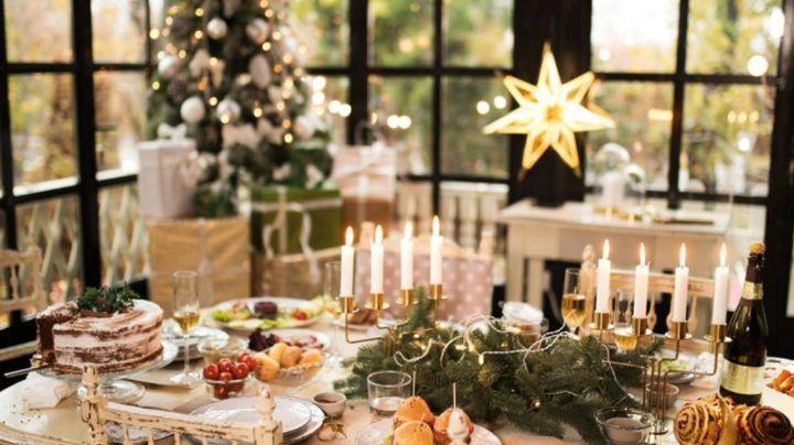 Los mejores consejos para decorar la mesa para la cena de Navidad y que luzca elegante