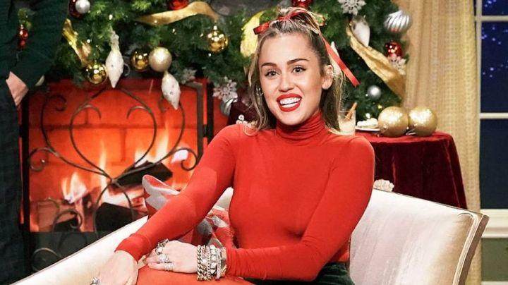 Miley Cyrus pasará las vacaciones de Navidad con su familia y revela extraña tradición