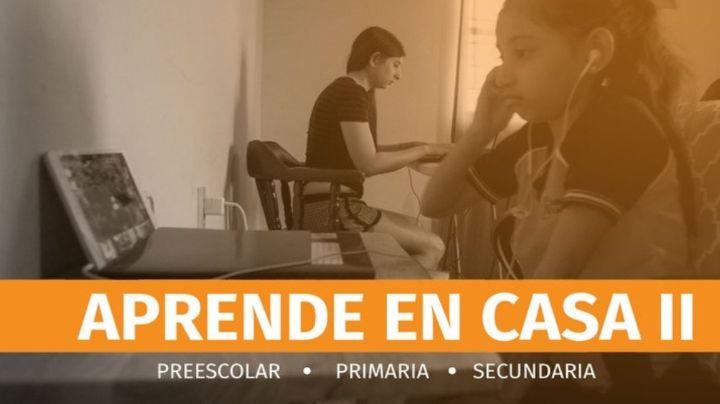 Aprende en casa: canales y horarios de clases de la SEP para primaria y secundaria