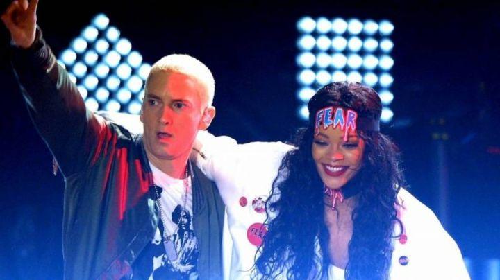 Eminem se disculpa con Rihanna tras haberse puesto del lado de Chris Brown