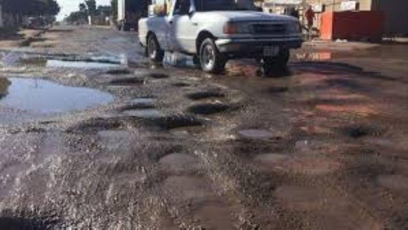 Las obras realizadas por las autoridades de Navojoa en las calles son insuficientes