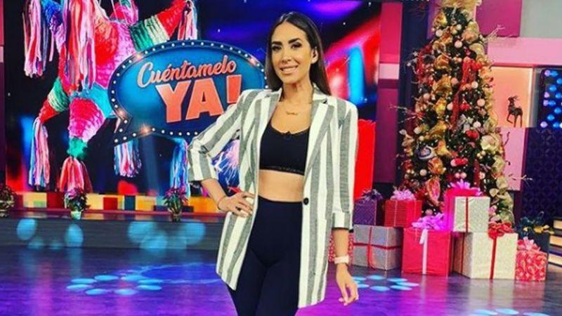 Cynthia Urías, conductora de 'Cuéntamelo YA!', renuncia a exitoso programa de Televisa