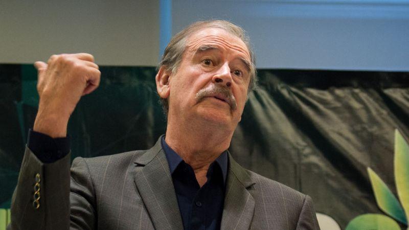 Vicente Fox arremete contra el Gobierno de AMLO por la muerte de Aristóteles Sandoval