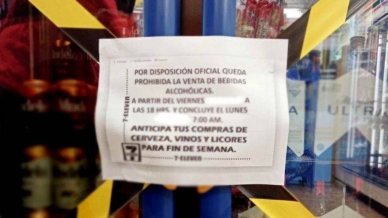 Estas son las alcaldías que aplicarán la Ley Seca este fin de semana en CDMX