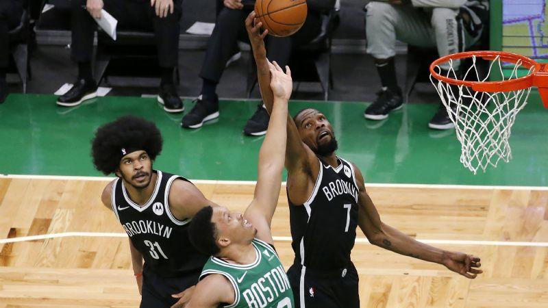 Kevin Durant está de vuelta y los Nets apabullan a los Celtics