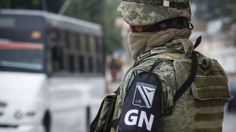 Elementos de la Guardia Nacional, emboscados en carretera Pitiquito-Altar