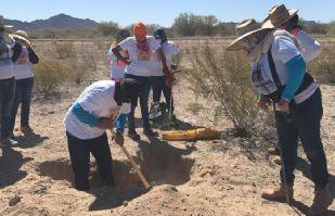 Hermosillo: Madres Buscadoras encuentran tres cuerpos en Las Cuevitas