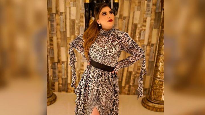 ¡Tremenda! Mamá de Christian Nodal se exhibe en redes con inquietante vestido