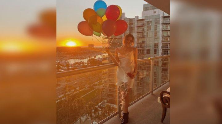 América Fernández, hija de 'El Potrillo', celebra sus 23 años en delicado vestido