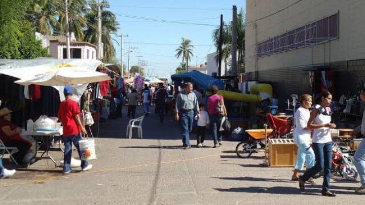 Autoridades sanitarias prohíben la entrada de personas vulnerables a los tianguis de Guaymas