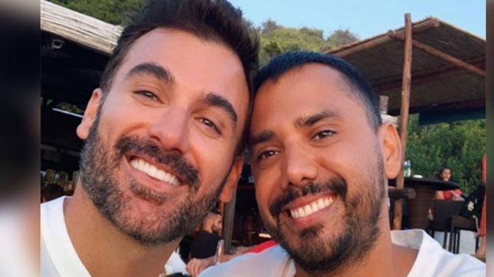 Mauricio Mejía y su novio Enrique Guzmán se casan en un romántico ritual maya