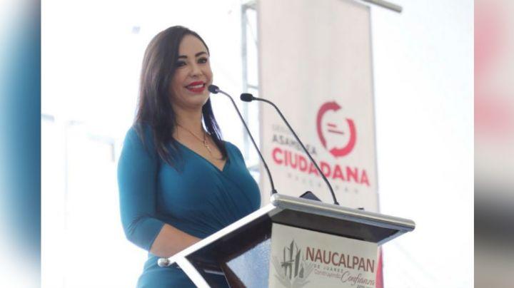 Alcaldesa de Naucalpan, Patricia Durán, celebra su boda con invitados sin cubrebocas