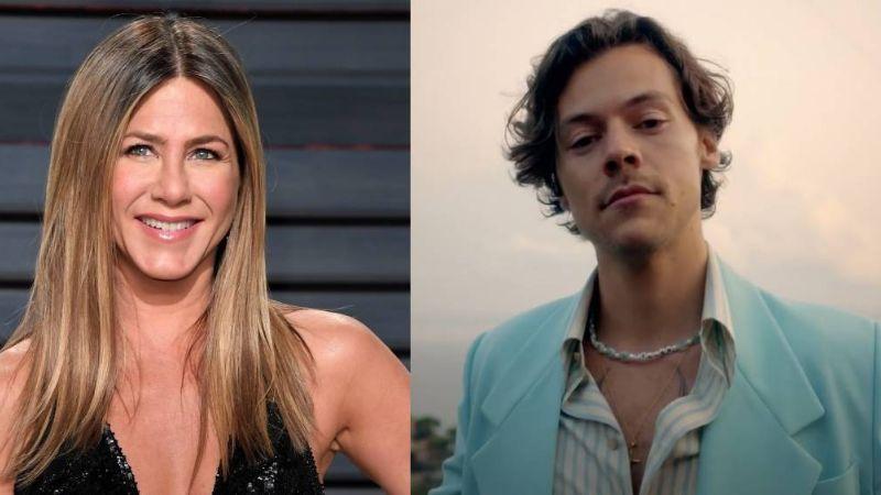 VIDEO: Harry Styles revela que está completamente enamorado de Jennifer Aniston