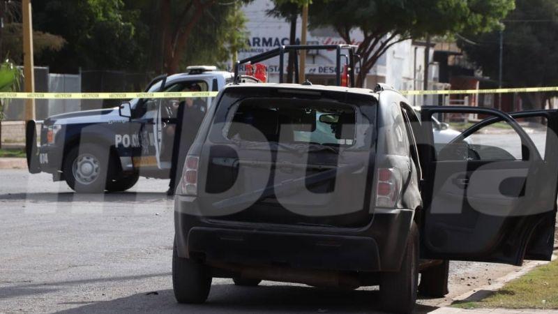 Abandonan auto con diversos impactos de bala en Cocorit; tripulantes huyeron del lugar