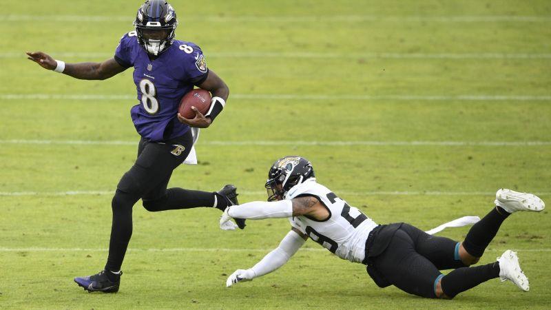 Ravens mantienen esperanzas de avanzar a playoffs al vencer a Jaguars