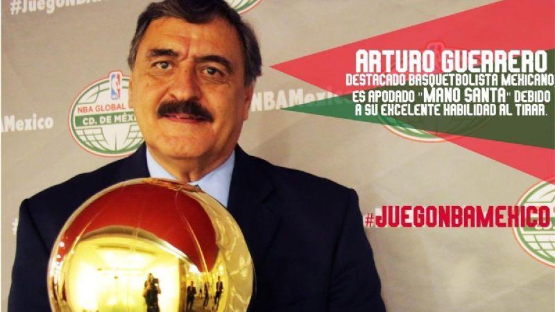 El ex basquetbolista Arturo Guerrero contagiado de Covid-19