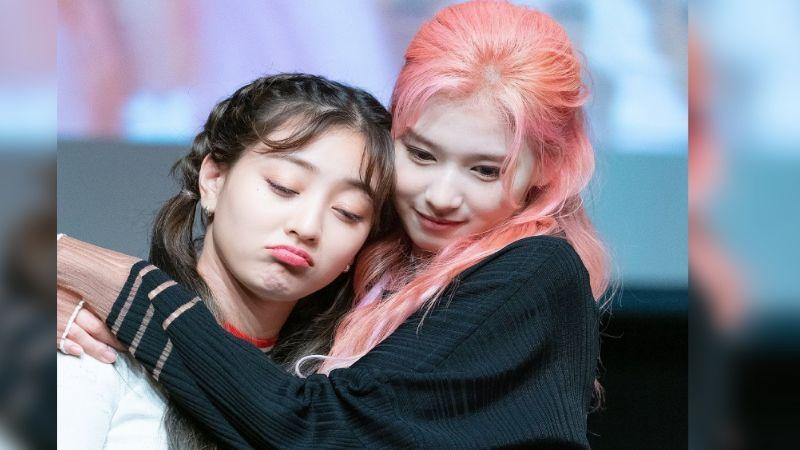 Jihyo y Sana del grupo Twice conmueven a sus fanáticos con sentimental rencuentro