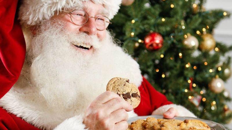 Esta es la interesante historia por la que se le deja galletas a Santa Claus