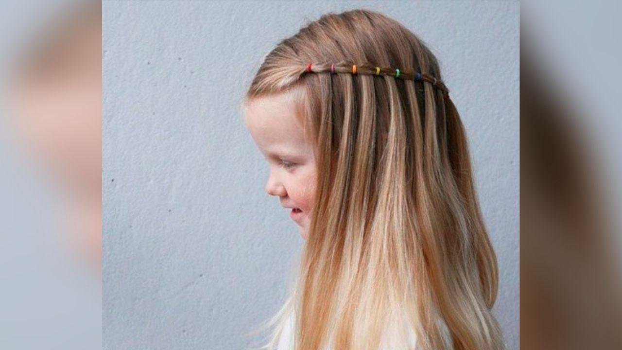 Hermoso peinados flamencos 2021 Imagen de estilo de color de pelo - Los mejores peinados para niñas que se convertirán en ...
