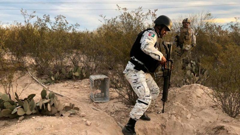 Enfrentamiento entre Guardia Nacional y delincuentes en Caborca deja un muerto