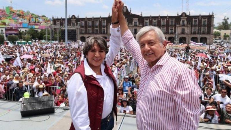 Ella es Delfina Gómez, la nueva titular de la SEP nombrada por AMLO