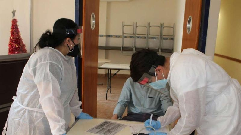 Centro Vacacional se convierte en albergue para pacientes con Covid-19