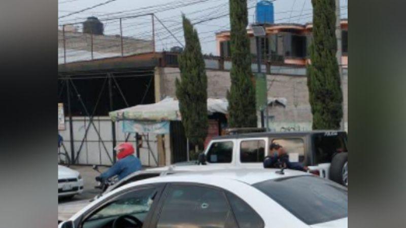 Conductora es herida de bala tras ser sorprendida por sujetos armados