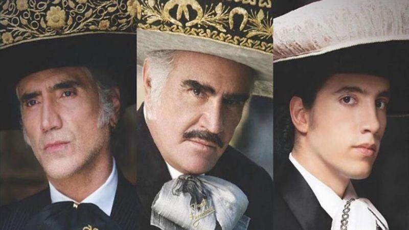 Tres generaciones de la dinastía Fernández interpretan portada de la revista 'Caras'