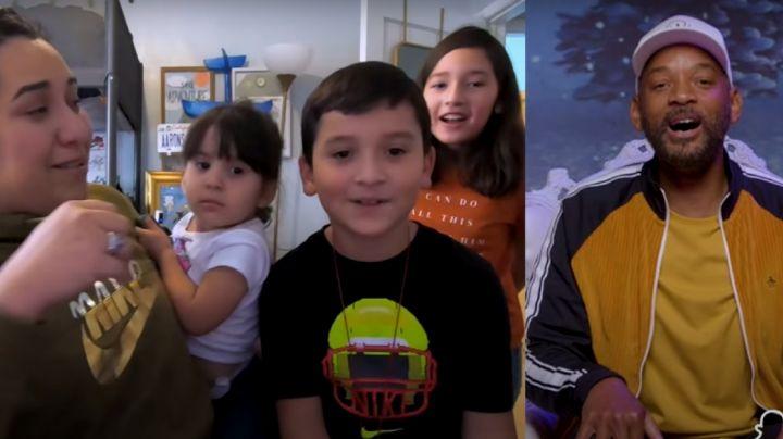 Will Smith sorprende a fanático mexicano con inspiradora historia y todos se conmueven