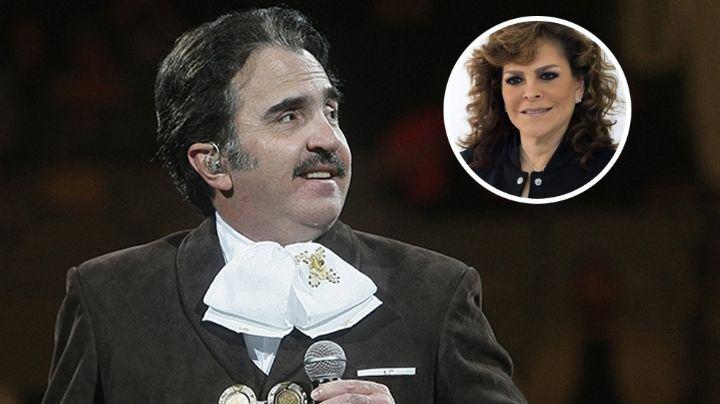Vicente Fernández habla de cómo es la relación con su exesposa, Mara Patricia Castañeda