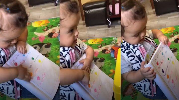 VIDEO: Niña enternece a todo Internet al enseñarle a su muñeca a hablar inglés