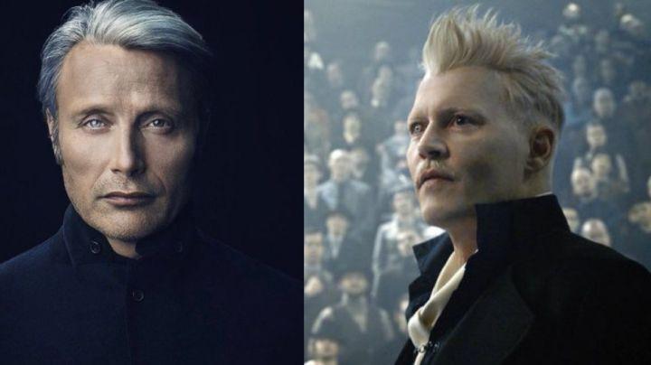 Mads Mikkelsen dice que no habla con Johnny Depp tras remplazarlo en 'Animales Fantásticos'