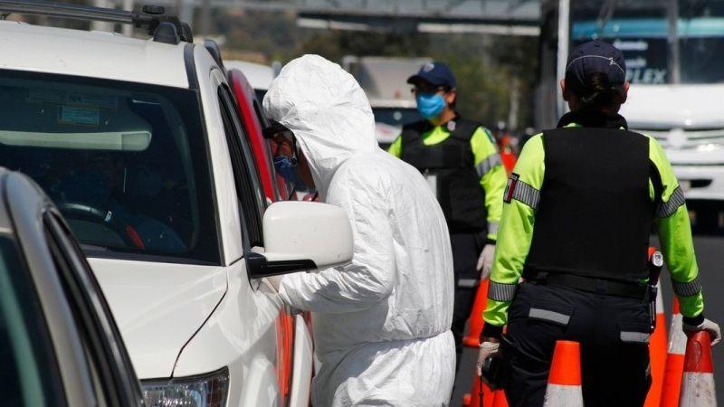 Pandemia: Se activan filtros sanitarios para disminuir la movilidad en Querétaro