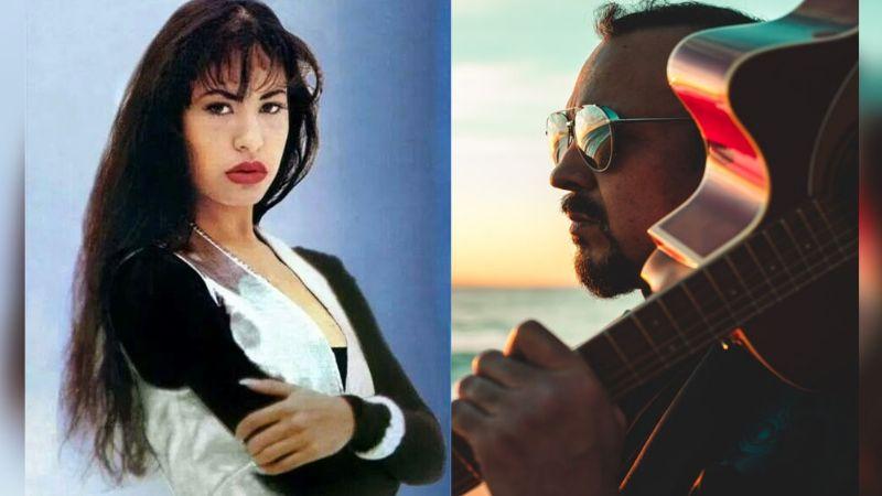 Pepe Aguilar y Selena Quintanilla se conocieron; esta inédita foto lo revela