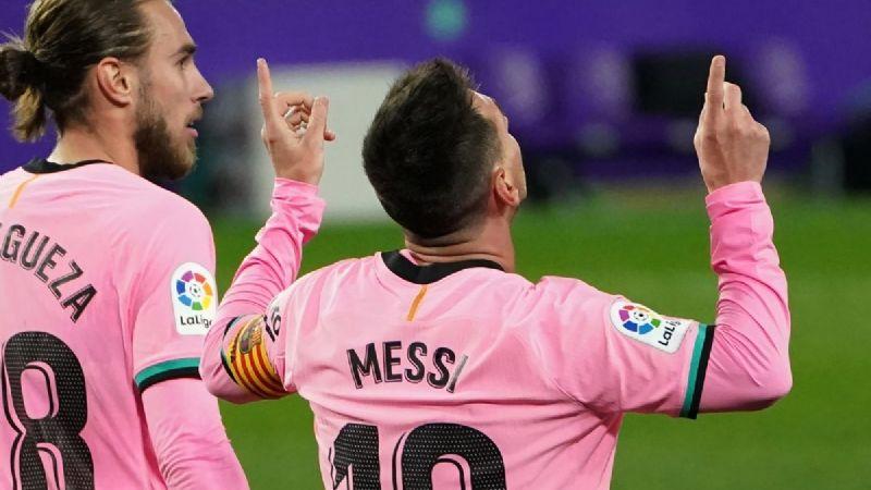 Messi tiene su regalo de Navidad y se convierte en el máximo anotador de un solo club