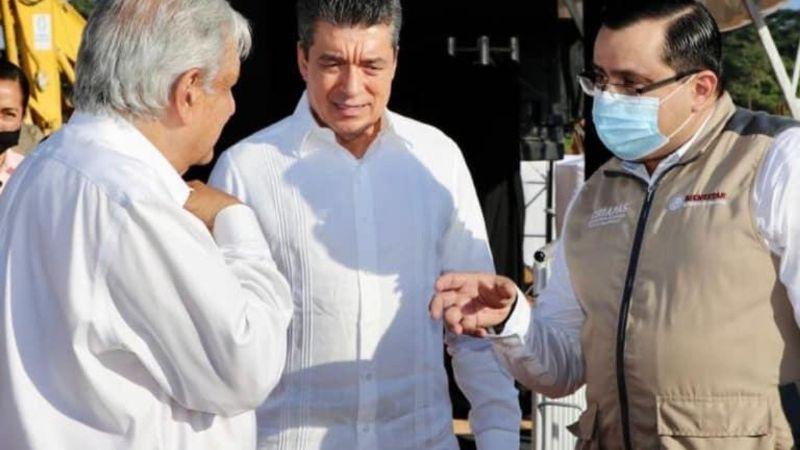 AMLO podría tener Covid-19: Funcionario que estuvo cerca de él en Chiapas dio positivo