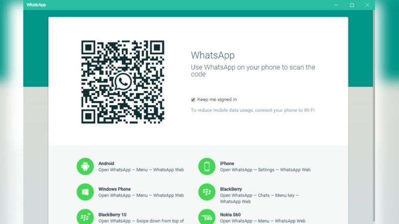 Si presentas problemas en WhatsApp Web por el código QR, está es la solución