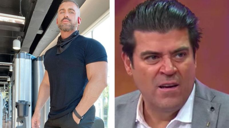 'El Burro' golpea a Diego di Marco en 'Hoy' y lo hace confesar si está operado