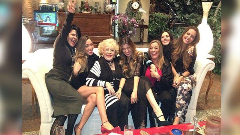 Doña Silvia Pinal se prepara para vivir una mágica Navidad con sus seres amados