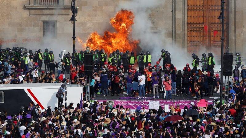 Estas son las manifestaciones más impactantes que se realizaron en el mundo durante el 2020