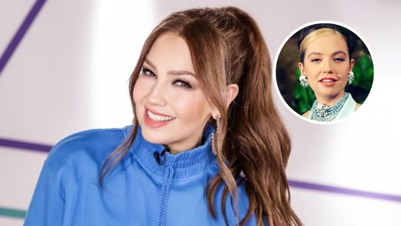 Thalía acepta el reto de un fan y revive a su personaje de 'Bella Aldama' en TikTok