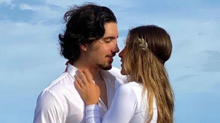 """Alex Fernández jr. celebra 10 años de noviazgo con romántica foto: """"Te amo, princesa"""""""