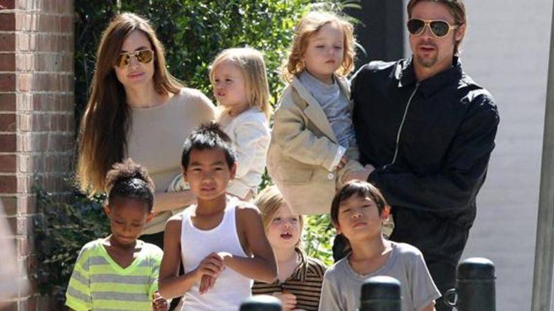 Brad Pitt pasaría Navidad con 3 de sus 6 hijos, ante el pleito legal con Angelina Jolie