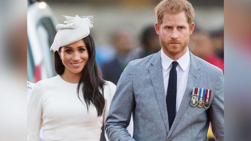 En plena cita, así fueron captados Meghan Markle y el Príncipe Harry en EU
