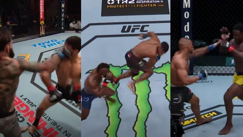 VIDEO: La UFC presenta los cuatro mejores nocauts del 2020 y se vuelven virales