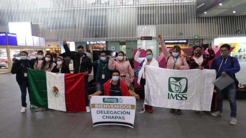 Operación Chapultepec: Ante semáforo rojo por Covid-19, CDMX recibe ayuda de médicos