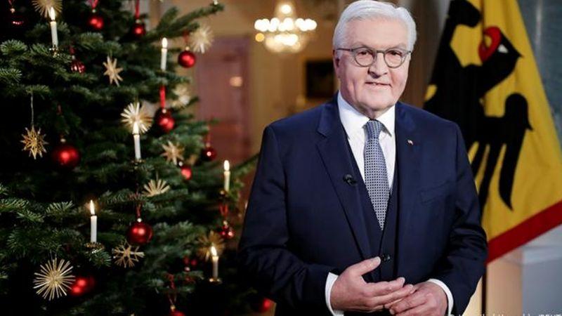 El presidente de Alemania brindará un emotivo mensaje de esperanza en esta Navidad