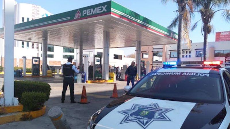 San Luis Potosí: Automovilista huyó sin pagar gasolina y ahora está tras las rejas