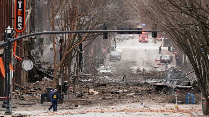 El presidente Donald Trump ya ha sido informado de la explosión en Nashville, EU