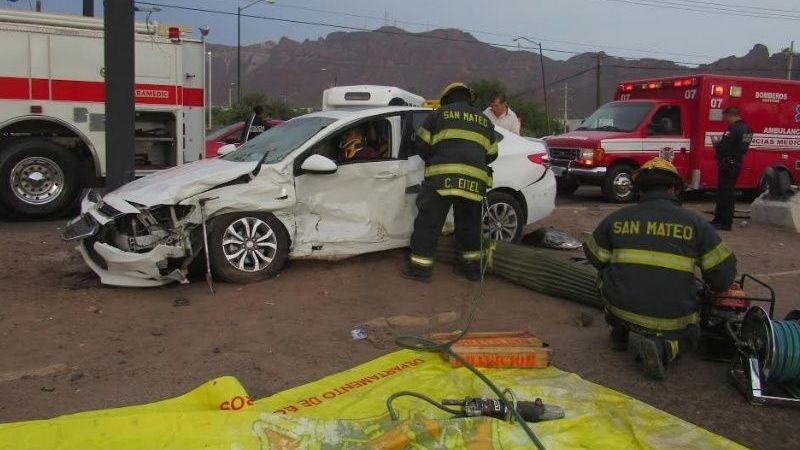 Alertan por aumento de accidentes en diciembre